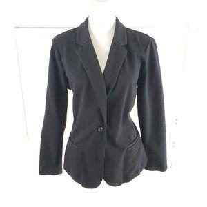 A.N A. Black Stretch Career Jacket XL